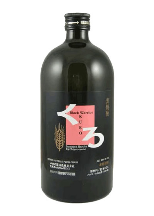 Chiyonosono Black Warrior Barley Shochu 750ML