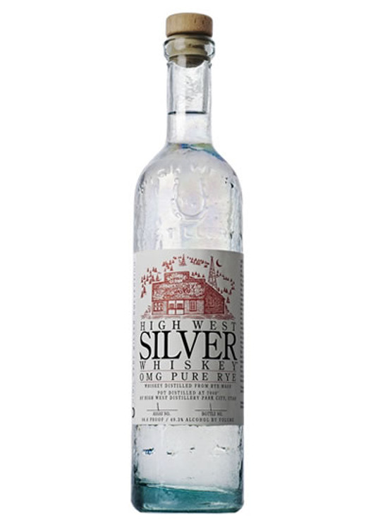 High West Silver Omg Pure Rye 750ML