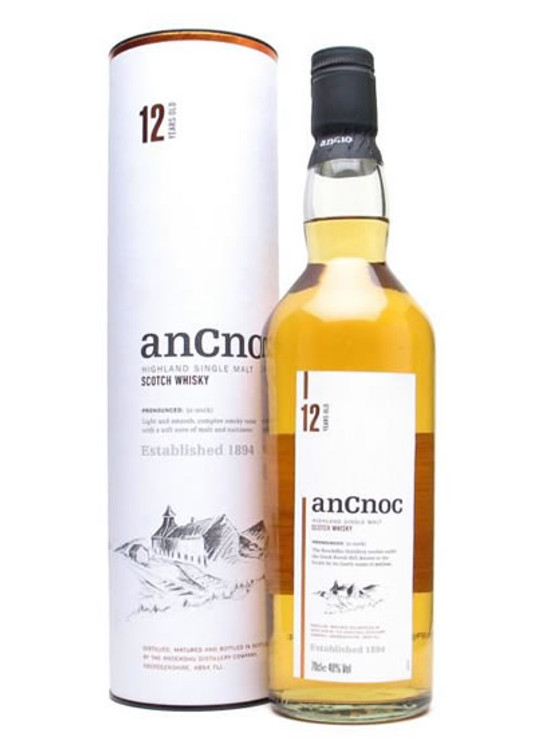 Ancnoc 12 Year Old 750ML