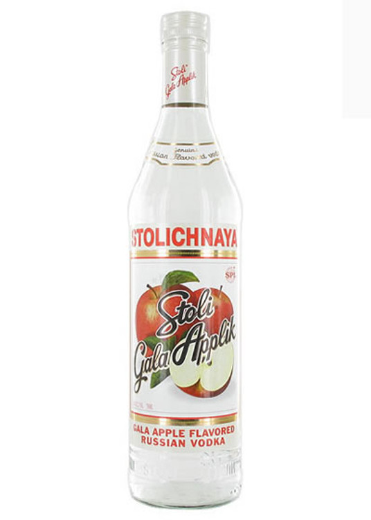 Stolichnaya Gala Apple Vodka 750ML