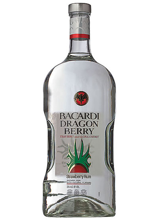 Bacardi Dragon Berry Rum 1.75L
