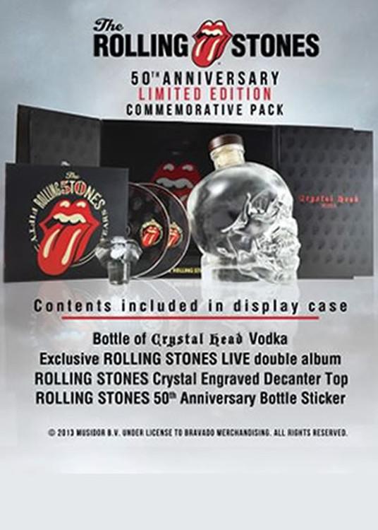 Crystal Head Rolling Stone Edition