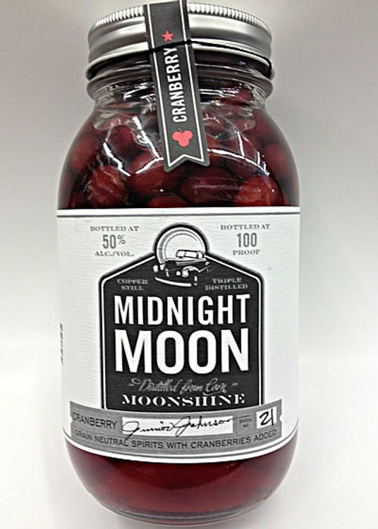 Junior Johnson's Midnight Moon Cranberry Moonshine