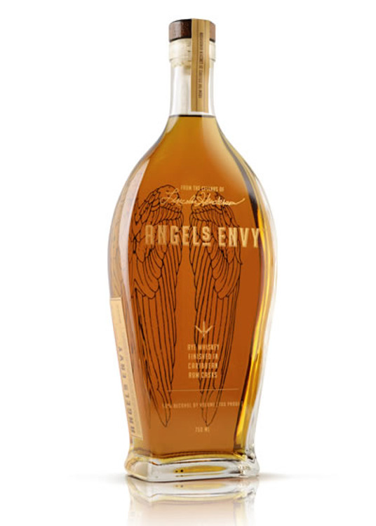 Angels Envy Caribbean Rum Cask Finish Rye Whiskey