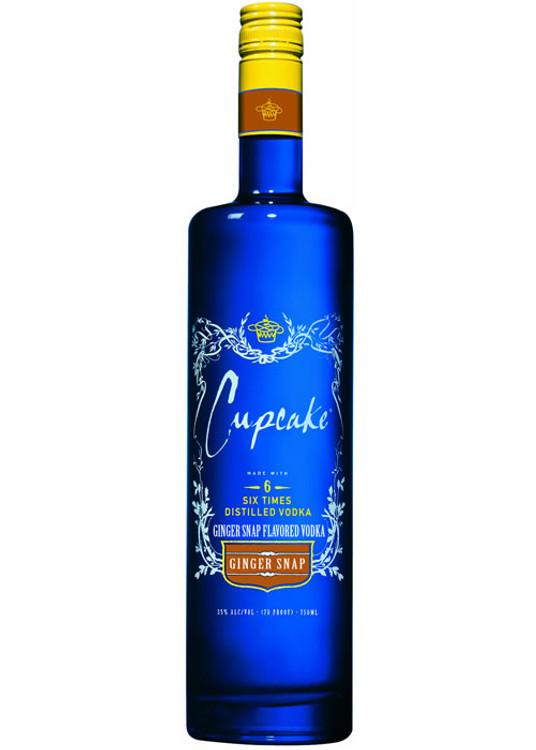 Cupcake Ginger Snap Vodka 750ML