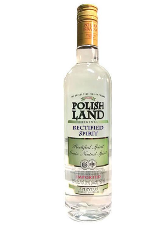 Polish Land Rectified Spirit 192 Proof 750ML