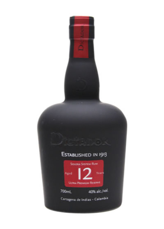 Dictador Rum 12 Years Old 750