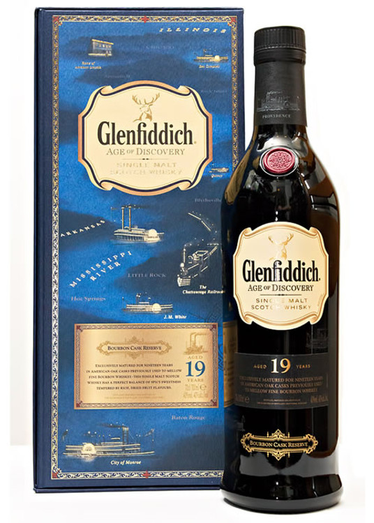 Glenfiddich Age of Discovery Bourbon Cask Reserve 750ML