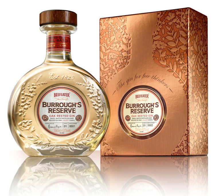 Beefeater Burroughs Reserve Gin 750ML