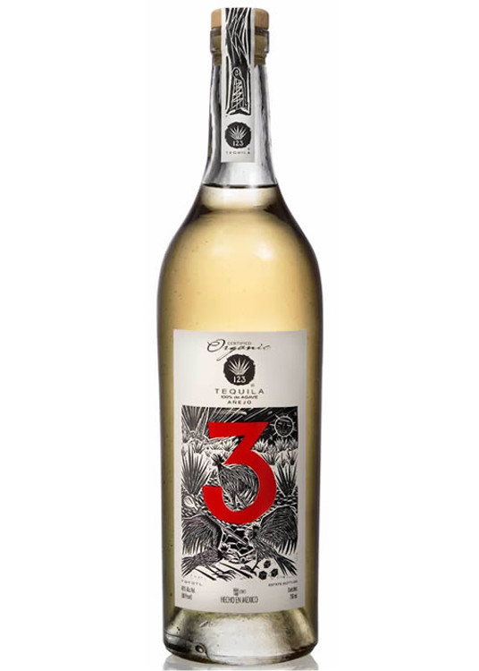 123 Organic Tequila #3 Anejo