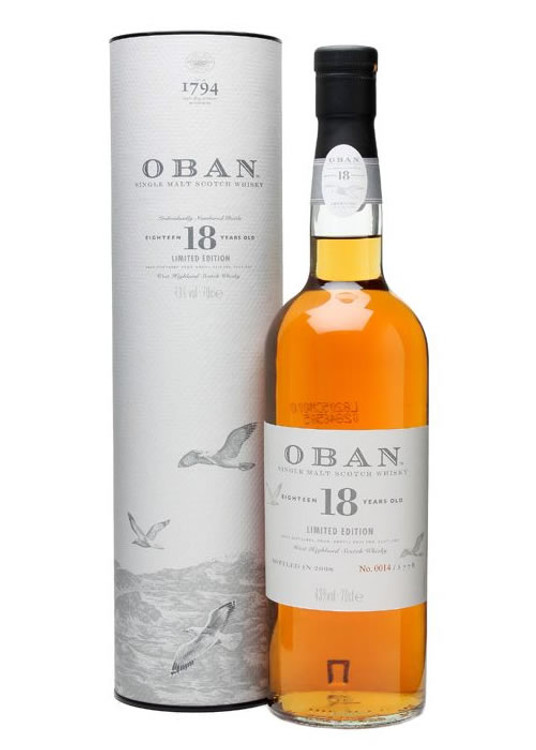 Oban 18 Years Old