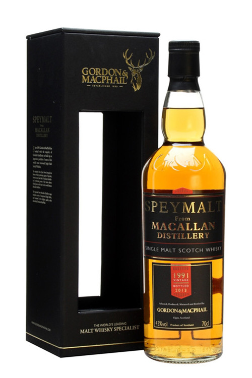 Gordon & Macphail Speymalt Macallan 21 Year 1991 43% 750ML