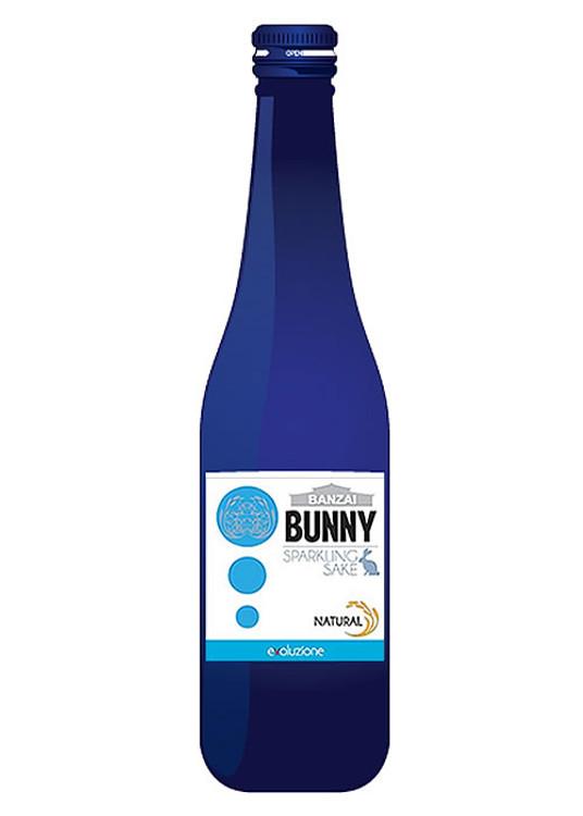Banzai Bunny Sparkling Sake 300ML