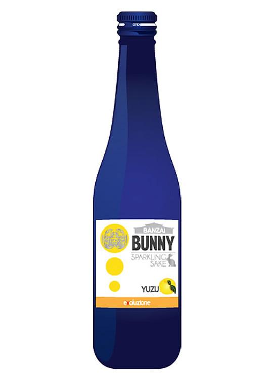Banzai Bunny Sparkling Yuzu Sake 300ML