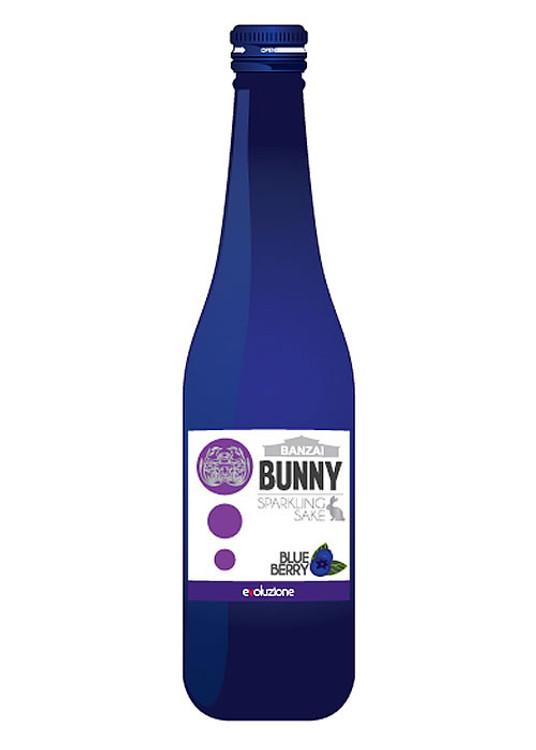 Banzai Bunny Sparkling Blueberry Sake 300ML