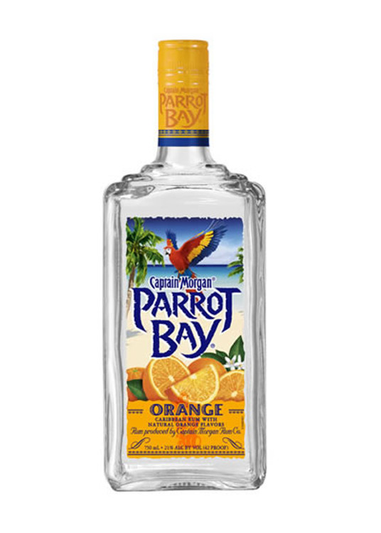 Parrot Bay Orange Rum 750ML