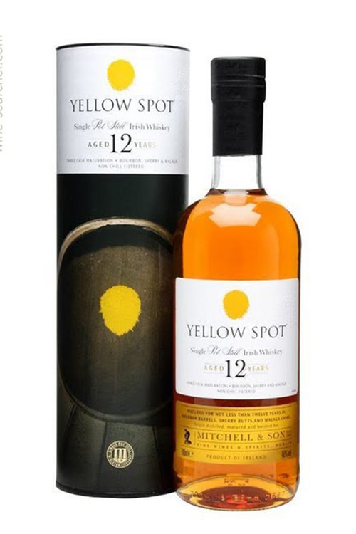 Yellow Spot 12 Year Single Pot Still Irish Whiskey