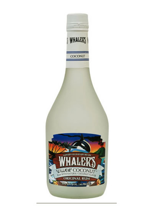 Whalers Coconut Rum 750