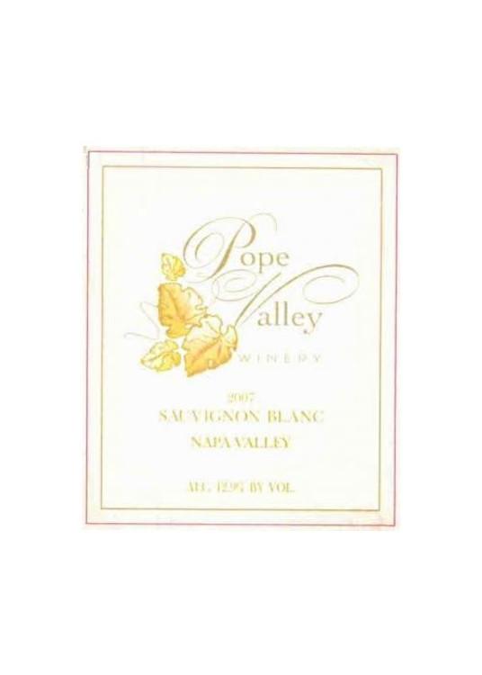 Pope Valley Sauvignon Blanc