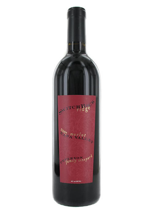 Switchback Ridge Peterson Family Vineyard Merlot