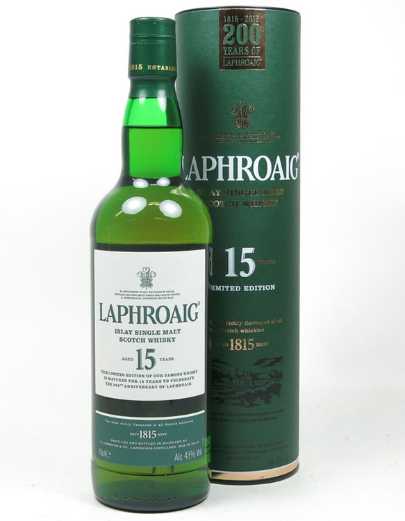 Laphroaig 15 Year 750ML