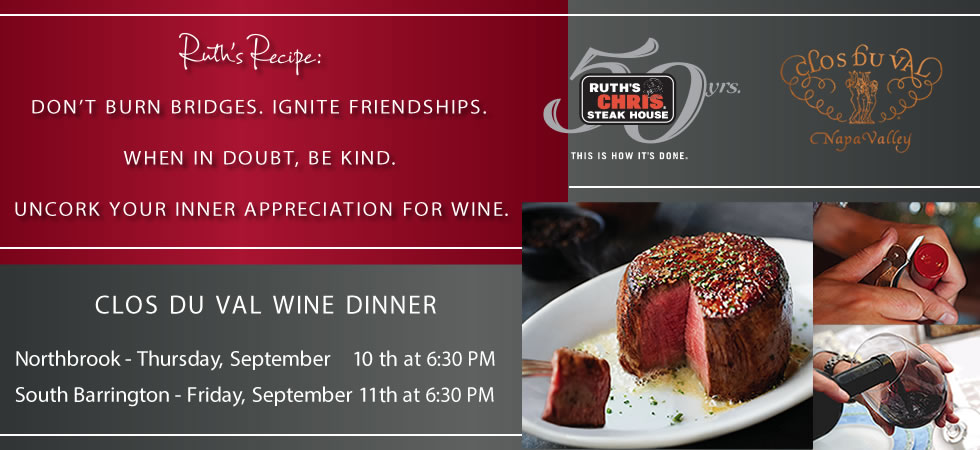 Clos Du Val Wine Dinner