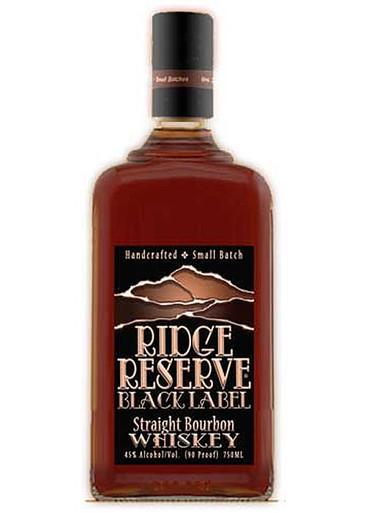 Ridge Reserve Black Label Bourbon