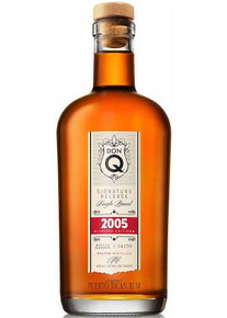 DonQ Signature Release Single Barrel Rum 2005