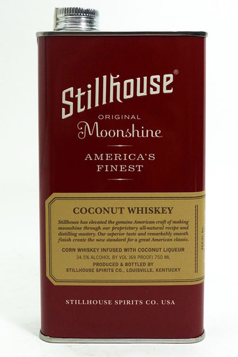 Stillhouse Coconut Moonshine Whiskey