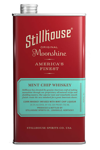 Stillhouse Mint Chip Moonshine Whiskey