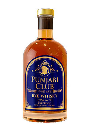 Punjabi Club Rye Whiskey
