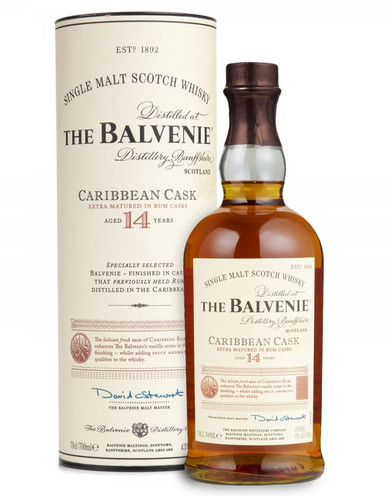 Balvenie 14 Years Old Carribean Cask