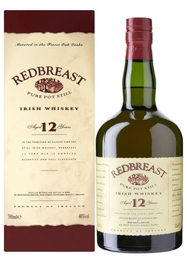 Redbreast 12 Years Old 750