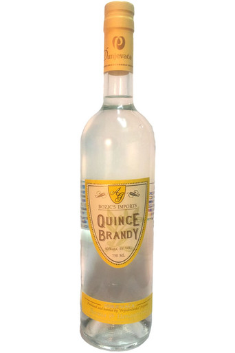 Home Spirits Brandy Slivovitz Brandy Bozics Quince Brandy 750ML