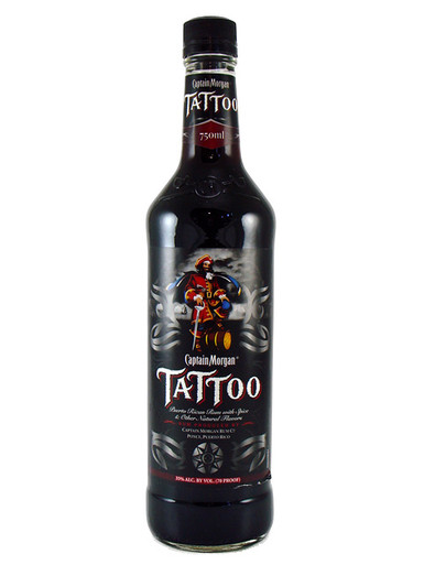 Captain Morgan Tattoo 750