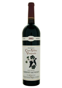 Anderson's Conn Valley Estate Reserve Cabernet Sauvignon 2002