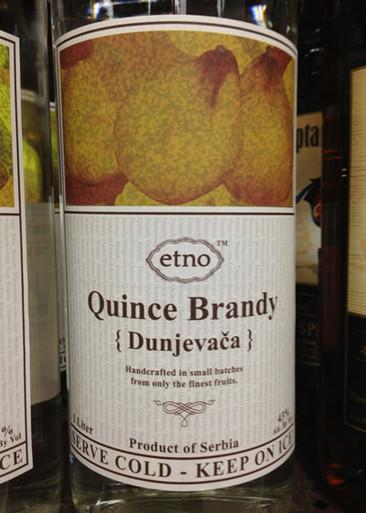 Home Spirits Brandy Etno Quince Brandy 1L