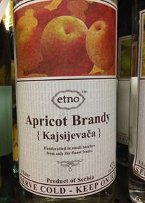 Etno Apricot Brandy