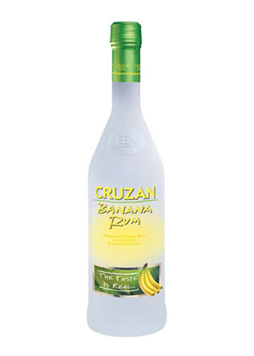 Cruzan Banana Rum 750