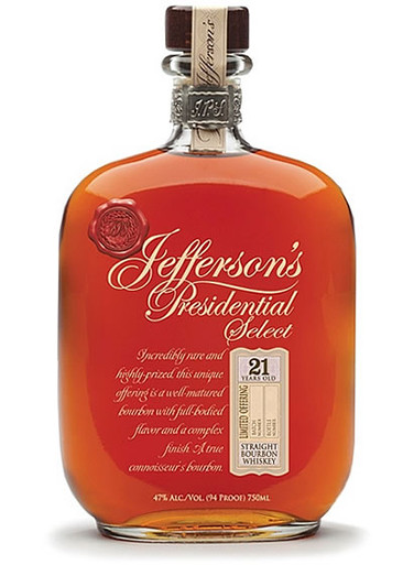 jefferson's presidential select 21