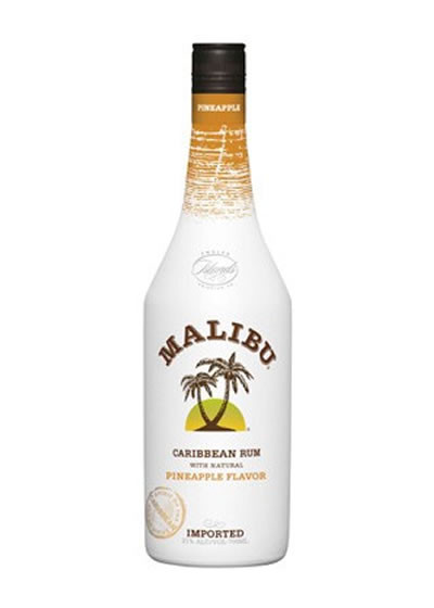 Malibu Pineapple Rum 750ml Liquor Barn