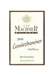 G&M Machmer Gewurtztraminer Spatlese