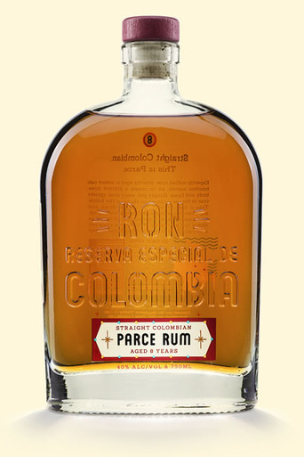 Parce Straight Colombian Rum 8 Year