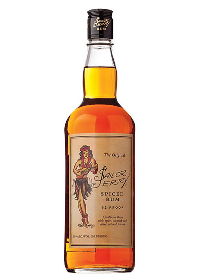 Home Spirits Rum Spiced Rum Sailor Jerry's Original Spiced Rum 750ML