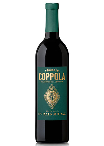 Coppola Diamond Collection Shiraz Green Label