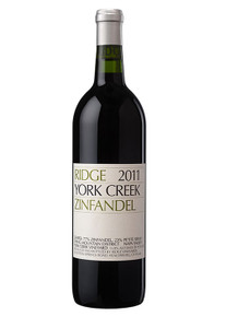Ridge York Creek Zinfandel 2011