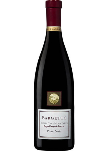 Bargetto Pinot Noir Santa Cruz
