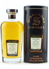 Signatory Rare Ayrshire Ladyburn 37 Year Cask Strength