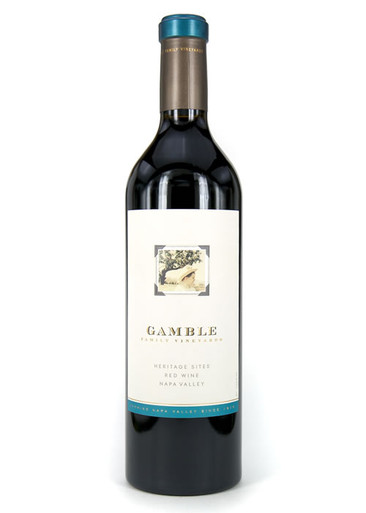Gamble Family Vineyards Heritage Sites Red