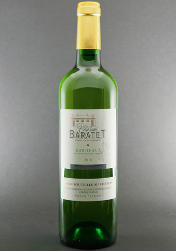 Chateau Baratet Bordeaux Blanc